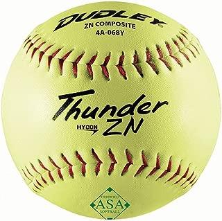 "Dozen Worth Hot Dot ASA 12/"" Slow Pitch Softball AHD12CY"