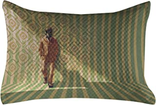 Ambesonne Fantasy Quilted Pillowcover, Mysterious