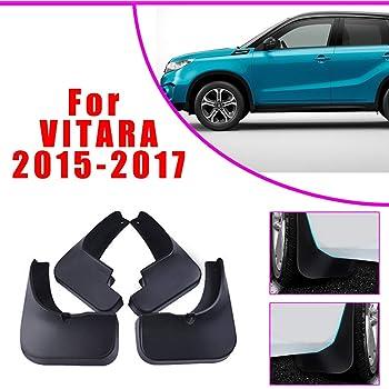 Cobear Avant Arri/ère Garde-boues Bavettes de Auto pour S uzuki SX4 Hatchback 2010-2019 Personnalisation de la Voiture et Armatures de Caisse Noir 4 pi/èces//Ensemble