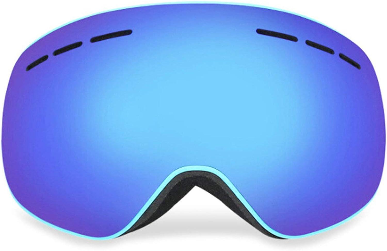Epinki Unisex PC Snowboard Glasses Snow Goggles Ski Goggles AntiFog Goggles for Skiing Snowmobile Skating