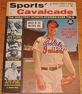 Bob Feller Autographed/Signed Sports Cavalcade Full Magazine 78642 - JSA Certified - Autographed MLB Magazines