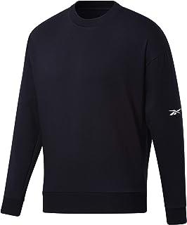 Reebok Men's Ts Dreamblend Cotton Crew Sweatshirt
