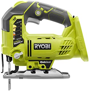 Ryobi P5231 18-Volt ONE+ Cordless Orbital T-Shaped 3,000 SPM Jig Saw with Adjustable Base (Tool-Only) (Non-Retail Packaging)