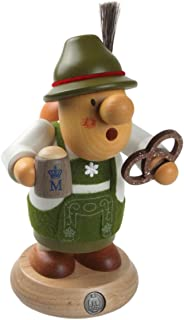 Mueller Pretzel Beer Bavarian Smoker German, Height 16 cm / 6 inch, Made in Germany