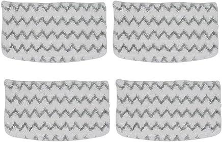 Flocare 2 Pack Scrubbing Steam Mop Pads for Shark Pro Steam Pocket Mop S3601D Replacement Standard Pads for S3601 S3501 S3801 S3901 S3901D Washable Microfiber Mop Pad