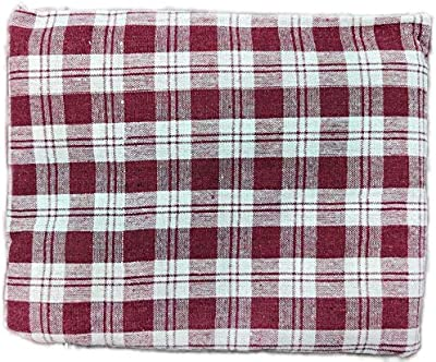 Vinayak Furnishings Mattress Cover 100% Cotton, Washable for Double Bed with Zip/Chain 72x36x4 inch