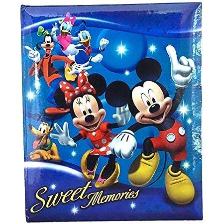 Disney 2020 Mickey /& Friends Glitter Stars 200 Photo Album