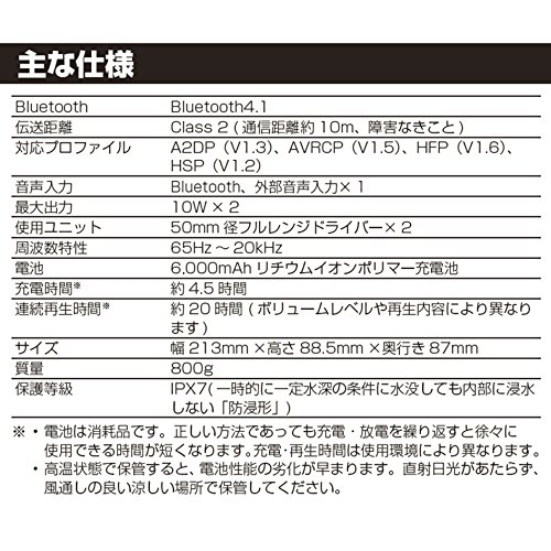 HARMANInternational『JBLCharge3ポータブルBluetoothスピーカー』