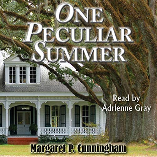 One Peculiar Summer audiobook cover art