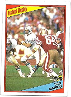 DAN MARINO 1984 Topps Instant Replay IR #124 Rookie Card RC Miami Dolphins Football