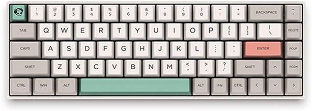 EPOMAKER AKKO 3068 9009 Retro 68-Key Tenkeyless No Bluetooth Mechanical Keyboard with Cherry MX Switch, N-Key Rollover, 85% PBT Keycaps, Type C Port for Gamers (Cherry Blue Switch, 3068-9009)