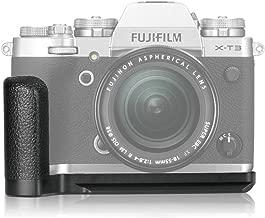 Meike XT3G Aluminum Alloy Hand Grip Quick Release Plate L Bracket MHG-XT3 Replacement for Fujifilm X-T3