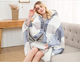Wearable Fleece Hoodie Blanket - Allows hat Move Freely - Super Soft, Lightweight and Cozy Throw Blanket for Adult, Women ...