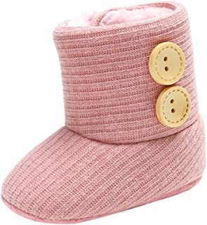 Infant Toddler Baby Girls Boots Boys Kid 1-6 Age Winter Thick Snow Boots Fur Shoes Egmy Baby Shoes