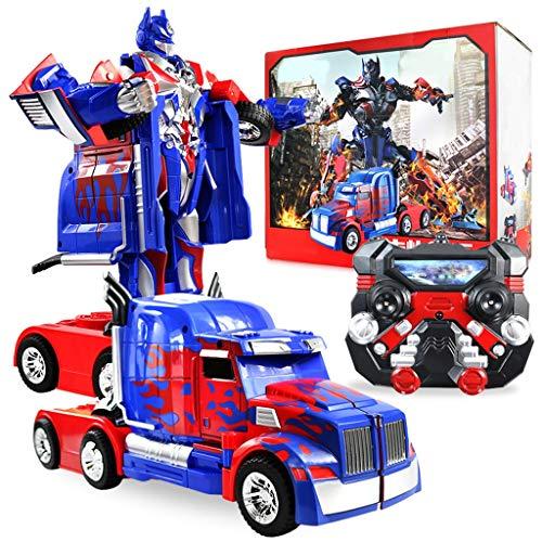 2.4G op afstand bestuurde auto, op afstand bestuurd model, vervormingsrobot-speelgoed, Hero-reddingsroboter-model, afstandsbediening voor jongens - kinderdag, het perfecte cadeau voor Kerstmis