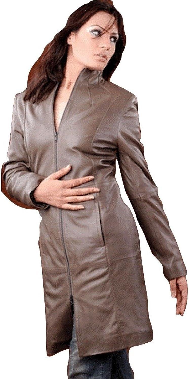 Fadcloset Ladies Glamgoldus Leather 3 4 Coat