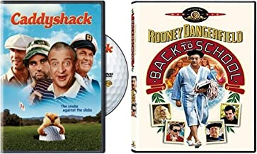 Rodney Dangerfield Double Feature: Back To School / Caddyshack