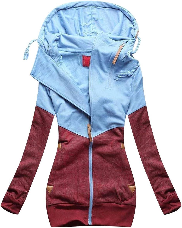Damen Pullover Long Kapuzenpullover Sweatshirt Hoodie Jacke Langarm L718