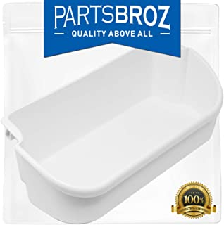 PartsBroz 240356401 White Refrigerator Bin for Electrolux and Frigidaire, Upper Slot Replacement Shelf - Replaces AP2116036, 240356405, 240356406, 240356409, 891213, AH430121, EA430121, PS430121