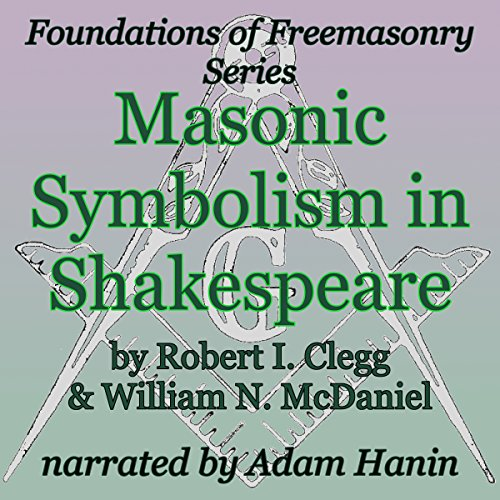 Masonic Symbolism in Shakespeare audiobook cover art