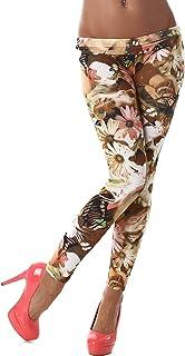 Unbekannt Q.A. Damen Leggings lang in verschiedenen Designvarianten
