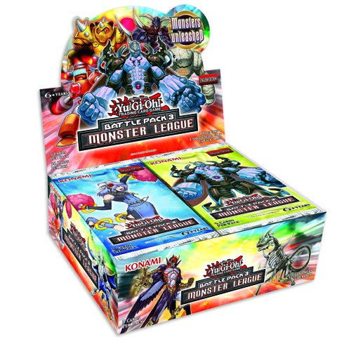 YU-GI-OH! Battle Pack 3 Monster League Boosters (Pack of 36) ENGLISCH