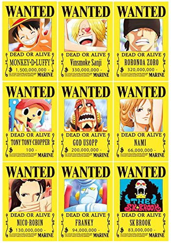 Póster One Piece marca Posters