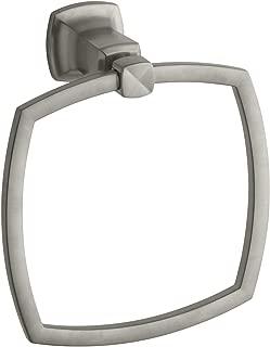 KOHLER K-16254-BN Margaux Towel Ring, Vibrant Brushed Nickel