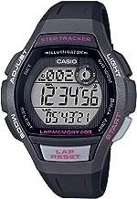 Casio Women's Runner Quartz Running Watch with Resin Strap, Black, 19.3 (Model: LWS-2000H-1AVCF)