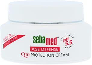 Sebamed Q10 Protection Age Defense Anti-Aging Face Cream for Fine Lines and Wrinkles 1.69 Fluid Ounces (50mL)