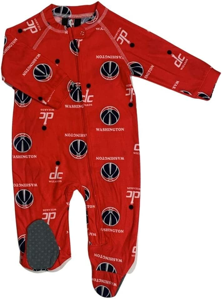 Outerstuff Infant Toddler Washington Wizards Coverall Sle New shop Shipping Free Zip Up