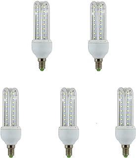 Lámpara Bombilla Led 3U Tubo E14 9 W (4000K luz día) 46343 (pack de 5 bombillas)