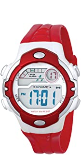 Vizion Digital LCD Multicolor Dial Watch for Boy's and Girl's-V-B2358-6