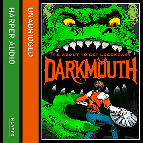 Darkmouth audiobook cover art
