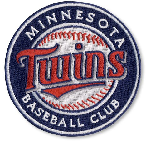 Minnesota Twins Round Logo Sleeve Patch (2010)