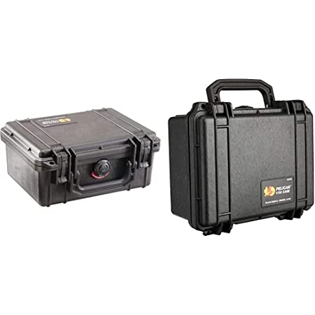 Pelican 1150 Camera Case with Foam (Silver) & 1150-000-110Pelican 1150 Camera Case with Foam (Black)
