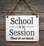 School is in Session Sign - Virtual Learning Sign - Home School Sign - Distance Learning Sign