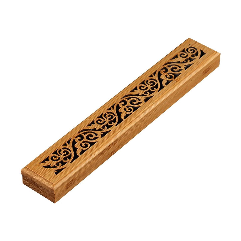 当社返済文明化するcheerfullus 2層木製お香ボックスお香スティックバーナーケースストレージボックス cheerfullus-234