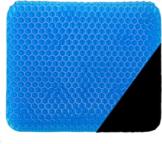 puzzle Gel Seat Cushion Ventilation Breathable Gel Seat Cushion Body Pressure Dispersion Butt Pain Relief Healthy Seat Cushion for Office Wheelchair Truckers