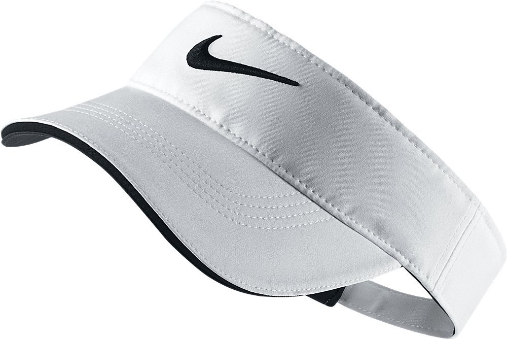 Nike Golf Visor White Adjustable