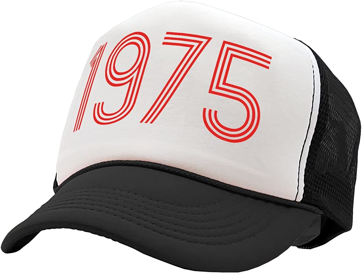 The Goozler - 1975 - Retro Classic Made in The 70's Font - Vintage Retro Style Trucker Cap Hat