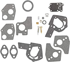 Fuel Li 495606 494624 Carburetor Overhaul Repair Rebuild Kit for Briggs & Stratton 80200 81200 82200 92200 93200 133200 135200 100200 111200 Pulsa-Jet Carb 3HP 4HP 5HP Horizontal Engine
