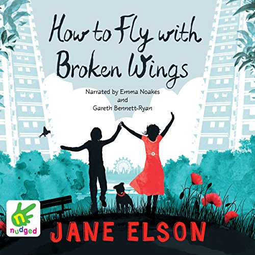 How to Fly With Broken Wings audiobook cover art