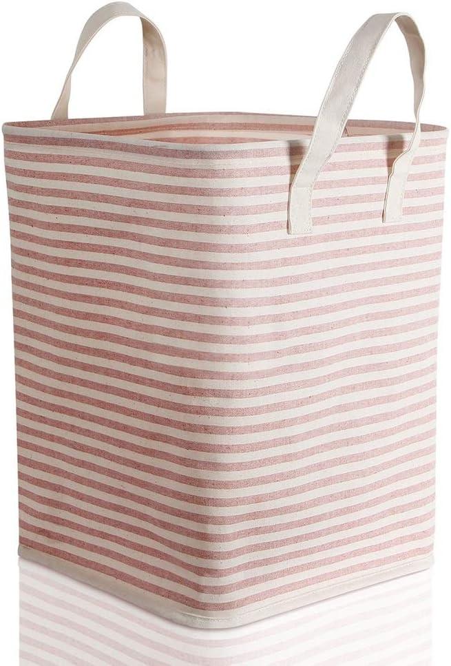 Daily bargain sale JXSHQS Waterproof Coating Ramie Rare Cotton Laundry Ba Folding Fabric
