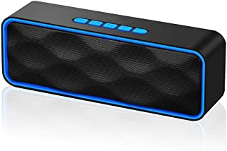 ANEAR Bluetooth Speaker, Bluetooth 5.0 Portable Speaker with Stereo Sound and Hi-Fi Bass, 12H Playtime, TF-card Slot, Buil...