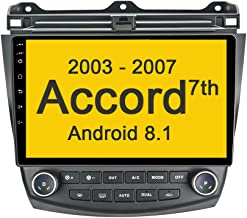 $189 » EZoneTronics Android Double Din Car Stereo for Honda Accord 7th 2003-2007