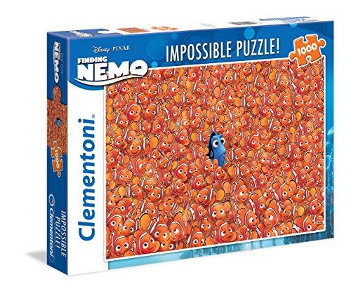 Clementoni 39359 - Impossible Puzzle Finding Nemo, 1000 Pezzi