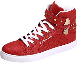 Men's Sneakers Wild High Boots Fashion Hip Hop Style High-Top Casual Shoes