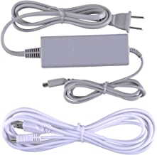 $21 » UCEC Wall Power Supply AC Adapter Charging Cable+ USB Charging Cord Charger Kit for Nintendo Wii U Gamepad
