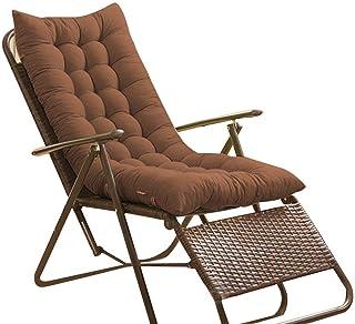 Cuscino reclinabile Antiscivolo Addensato Cuscino per Sedia a Dondolo Cuscino per Sedia a Sdraio con Panca N//Y Cuscino per Sedia a Sdraio con Sedia Non Inclusa